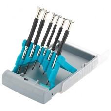 Набор отверток Гросс для точной механики 6шт, метал.обрезин. ручки 13346