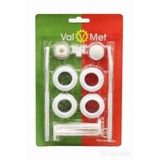 Набор для радиаторов 1/2 VALMET с кронштейнами