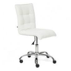 Кресло ZERO (кож/зам, белый, 36-01)