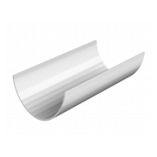 Желоб водосточный белый 3м Технониколь
