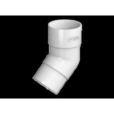 Колено трубы 135гр белый Технониколь