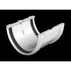 Соединитель желоба белый Технониколь