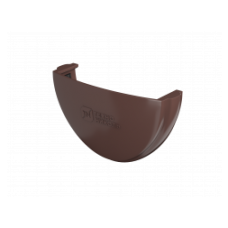 Заглушка желоба коричневый Технониколь