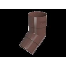 Колено трубы 135гр коричневый Технониколь
