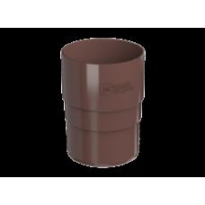 Муфта трубы коричневая Технониколь