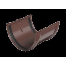 Соединитель желоба коричневый Технониколь
