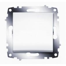 Выключатель ABB Cosmo 1-клав. белый механ. б/рамки 619-010200-200