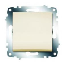 Выключатель ABB Cosmo 1-клав. кремовый механ. б/рамки 619-010300-200