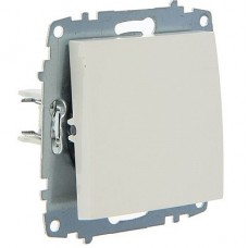 Выключатель ABB Cosmo 2-клав. белый механ. б/рамки 619-010200-202