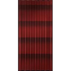 Кровельный лист Ондулин Черепица 1,95*0,95м красный